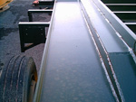 pistes étroites avec fosses de blocage des caissons